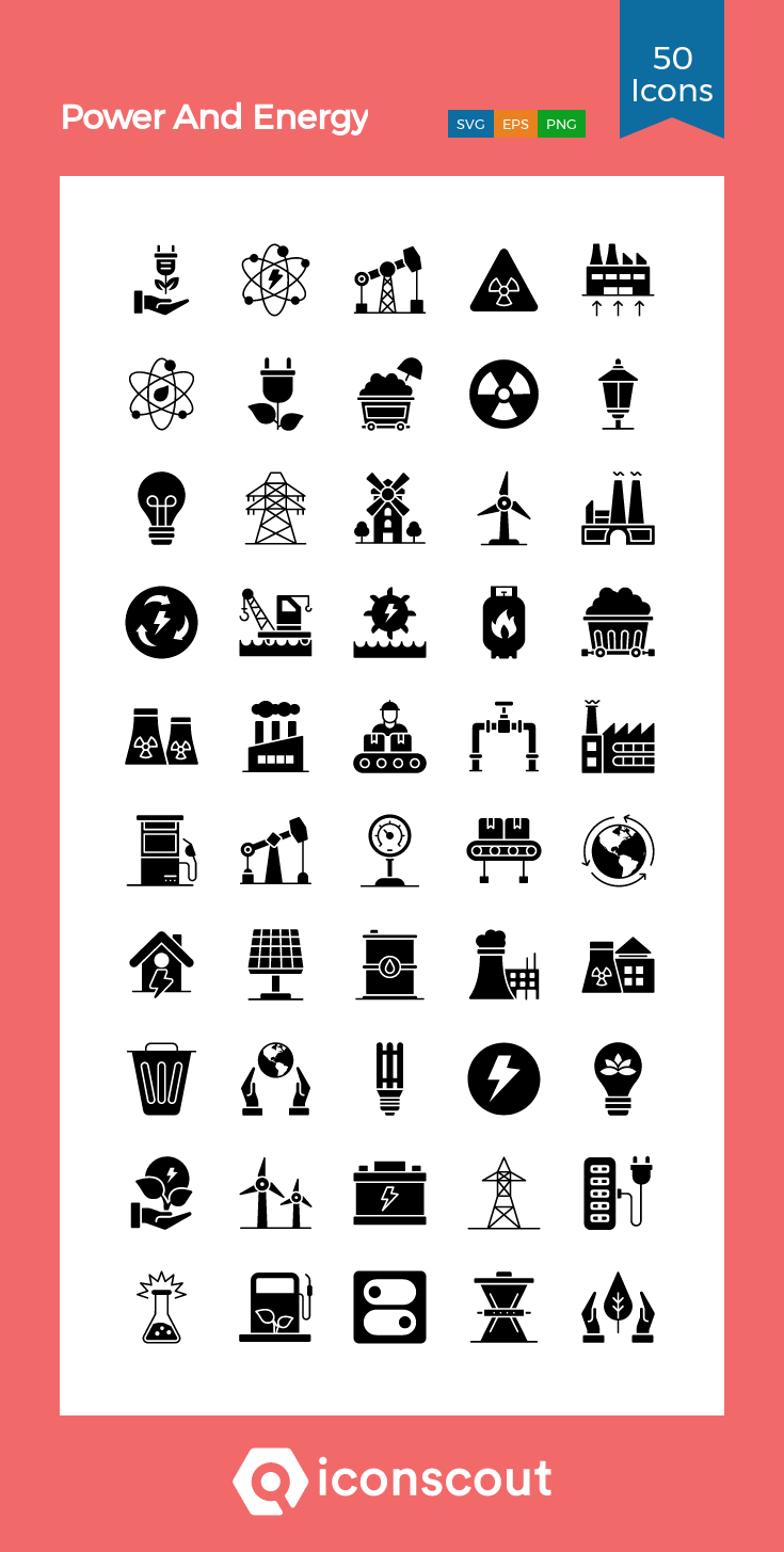 Download Power And Energy Icon Pack Available In Svg Png Eps Ai Icon Fonts Icon Pack Icon Power