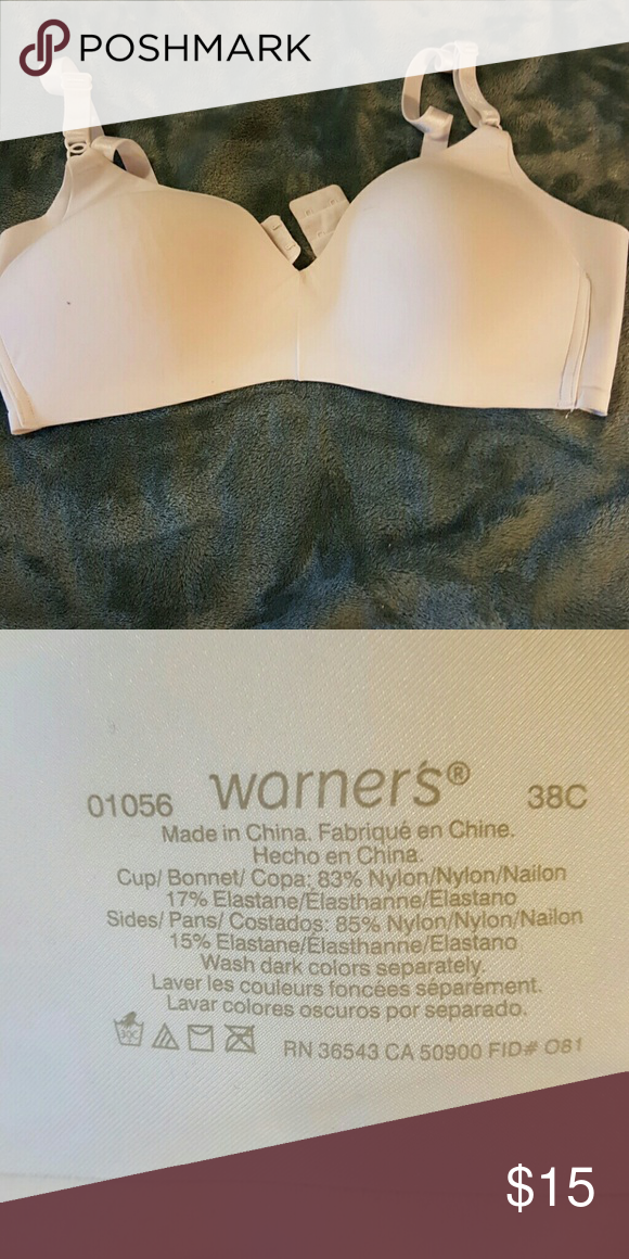 0ae9a4304b6d3 Bra Worn twice. Warners Intimates   Sleepwear Bras