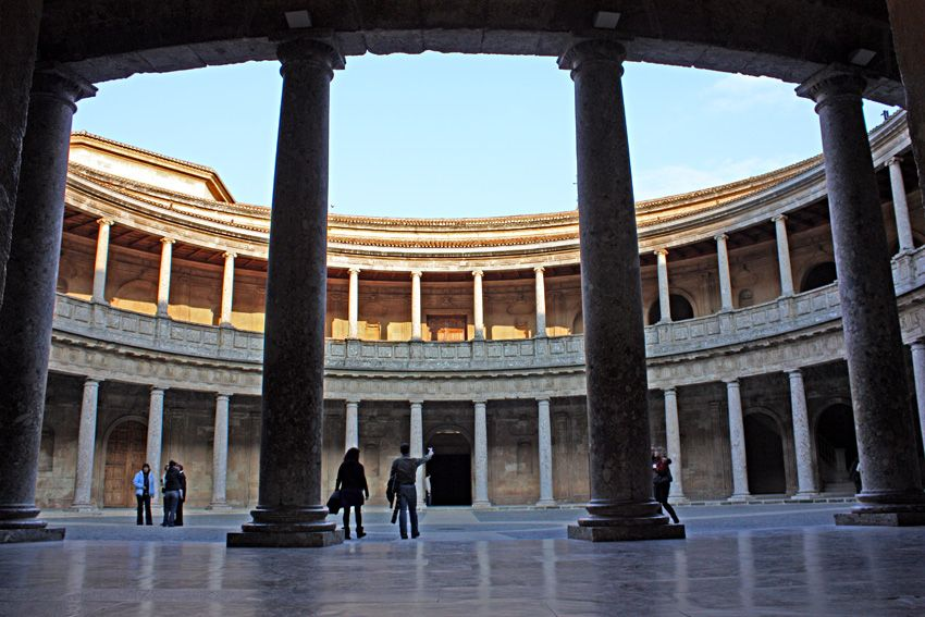 High Quality Palacio De Carlos V, Centro De La Alhambra De Granada, (Arq. Pedro