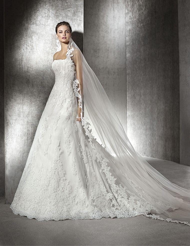 dd40f23f7 Vestido de novia modelo América