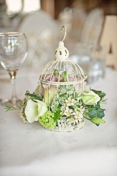 centro de mesa par bodas vintage en jaula foto cotton candy weddings