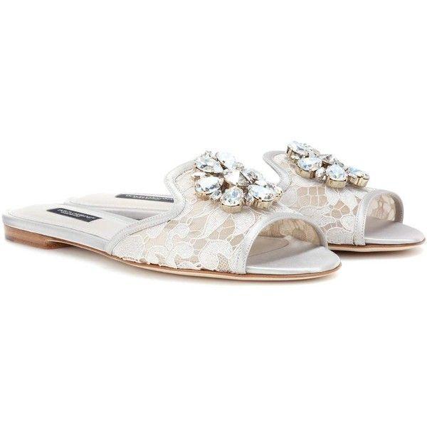 Bianca Slip-on Sandales Dolce & Gabbana EUy6l1