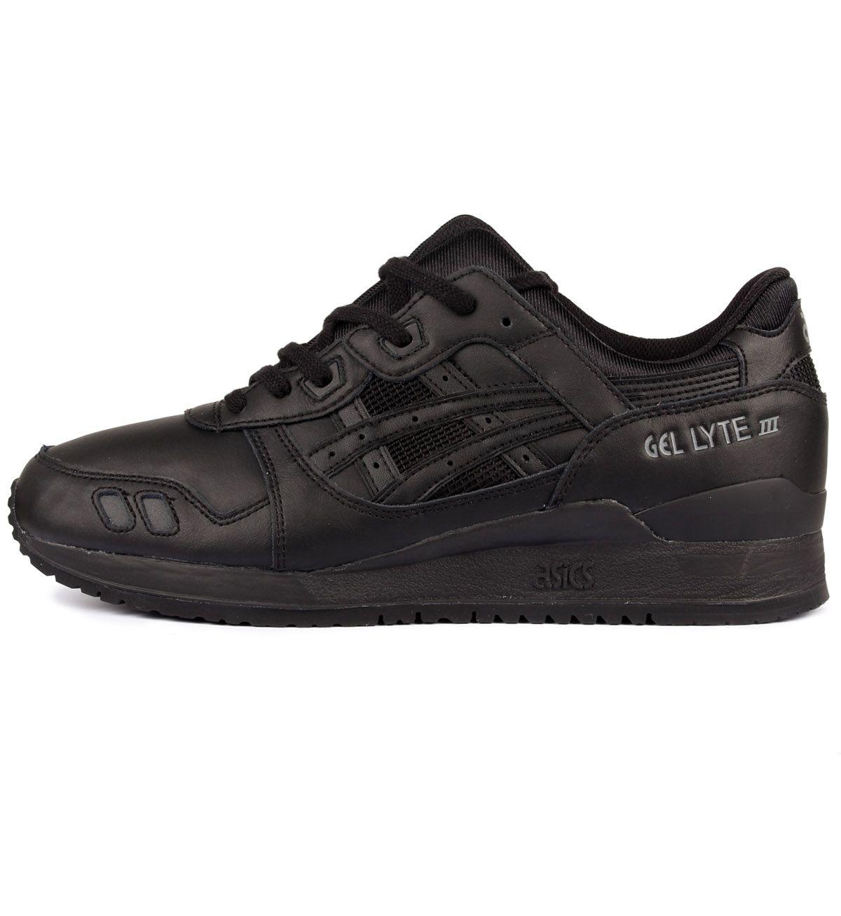 ASICS Gel Lyte III Black / Black