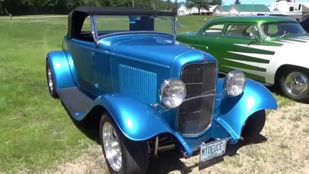 Convertible Blue Antique Ford Car | Videos | Pinterest | Convertible ...