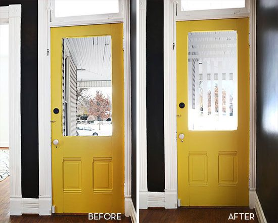 Weekend Project A Subtle Diy Way To Add Privacy To Your Front Door Frosted Glass Door Front Door Door Design