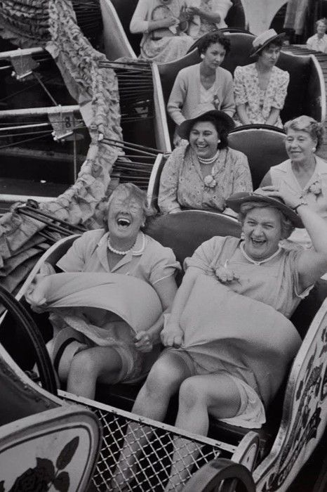 You can choose to live your life with the joy of the front row or solemness of the third row. The choice is yours.