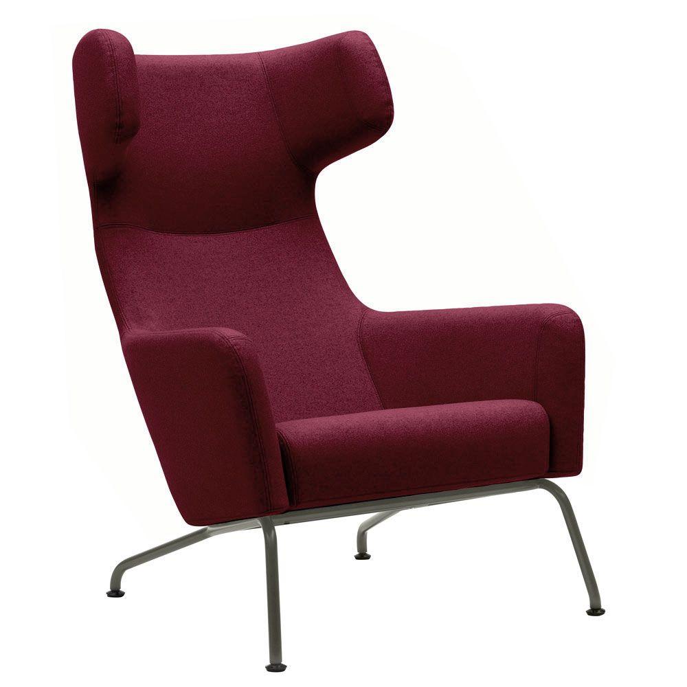 Havana Wing Chair By Busk Hertzog For Softline A Generous