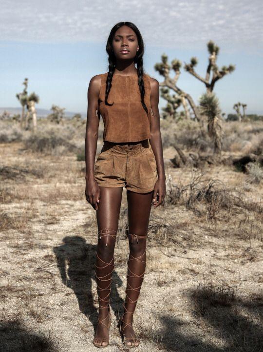 Ebony wild