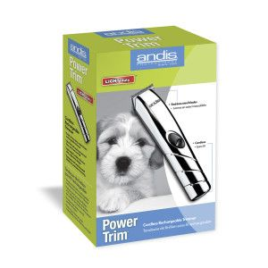 Andis Power Trim Cordless Rechargeable Pet Trimmer Hair Clippers