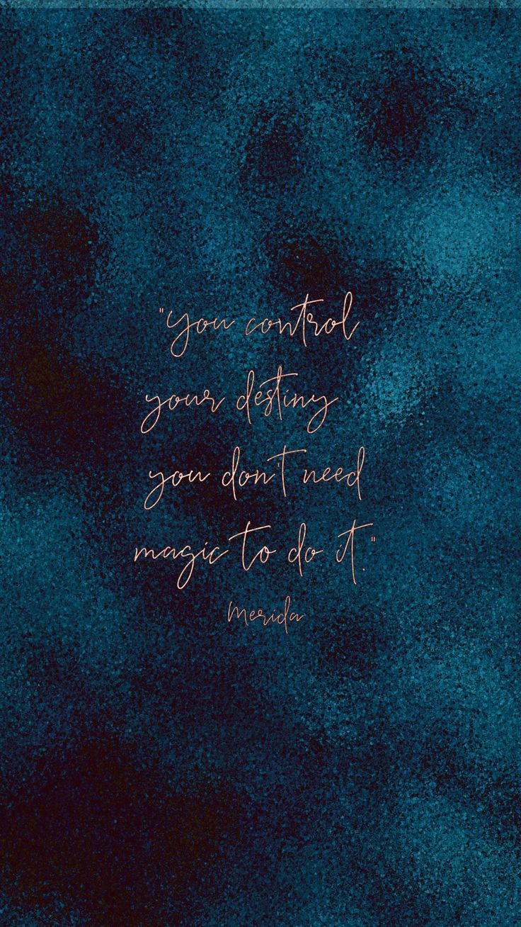 ❤️ you control your destiny. you don't need magic to do it. inspiration.