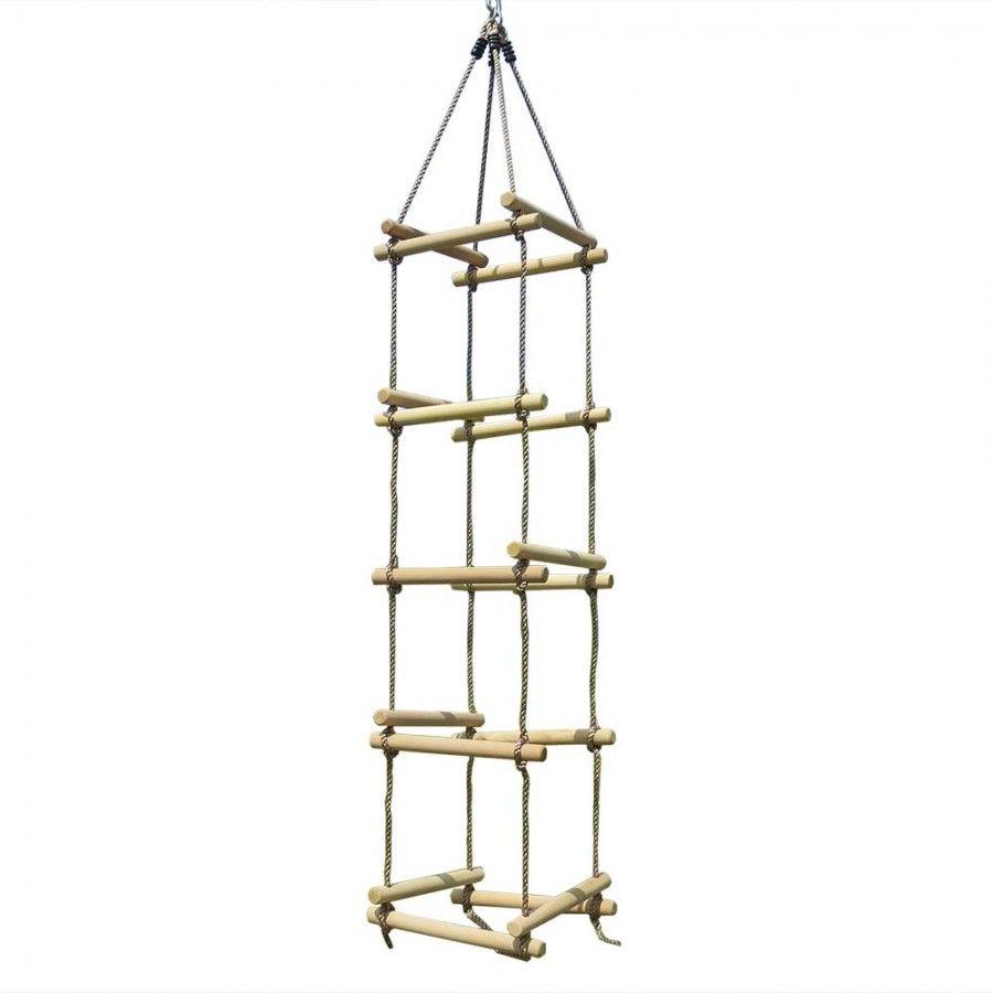 4 Seiten Strickleiter Fur Schaukel Oder Spielturm
