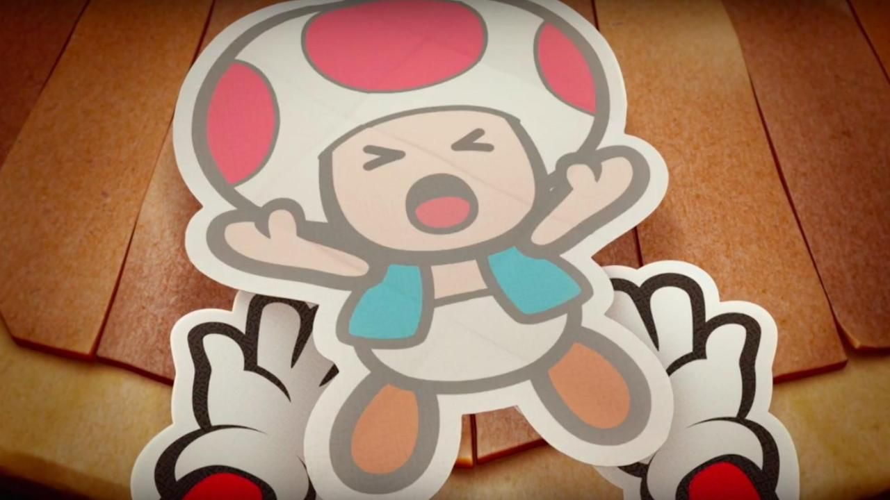 Paper Mario Color Splash Official The Adventure Unfolds Trailer