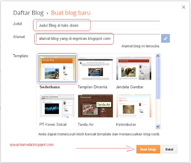 Cara Membuat Blog Dengan Blogger Menggunakan Tamplate Newspick Gratis Buat Blog Blog Blogger Teknologi