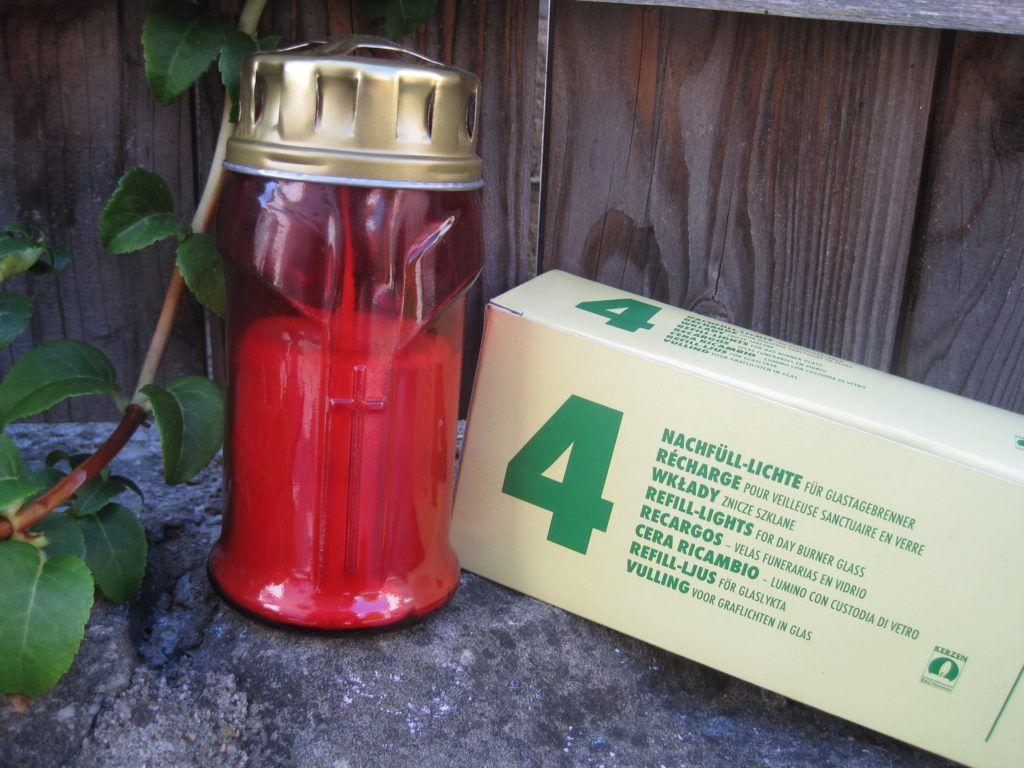 Zero Waste Plastikfreie Grablichter Grablicht Besser Leben