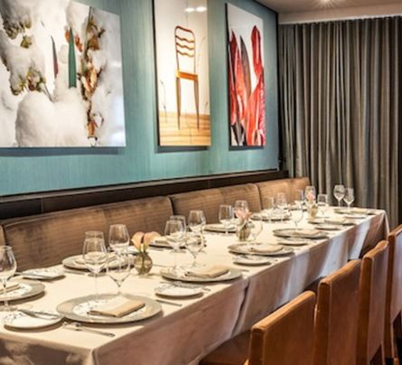 Private Dining  Ai Fiori  Special Events  Midtown Nyc  Fish Amazing Private Dining Room Nyc Inspiration Design
