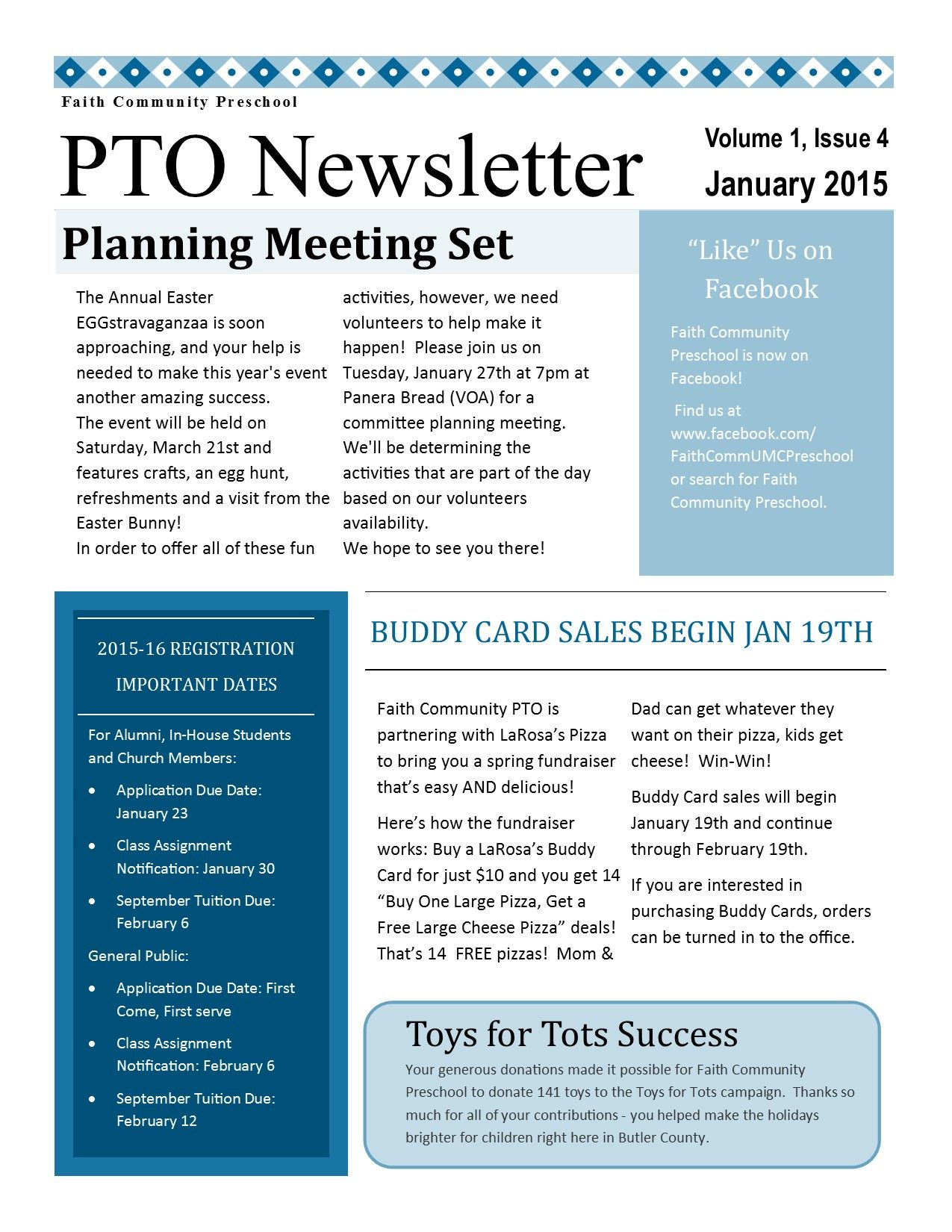 Pto Newsletter  Pto Pta Newsletter    Pta School And