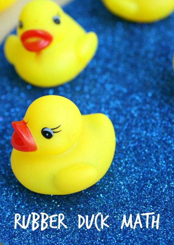 Rubber Duck Math Game To Go With Ten Little Rubber Ducks Fantastic Fun Learning Rubber Duck Math Games Math Activities Preschool