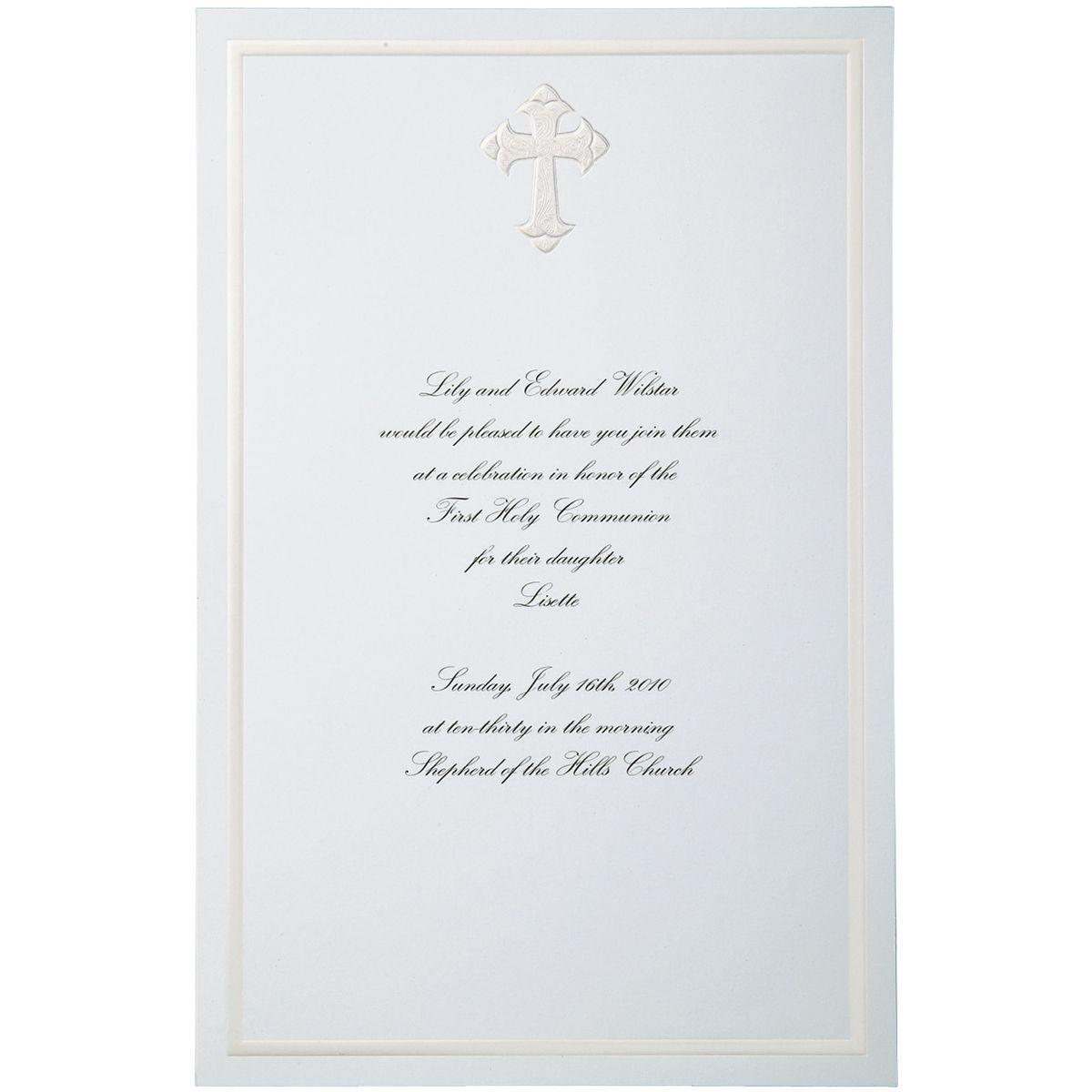 Wilton 4ct Faith Invitation Kit  Wedding invitation kits
