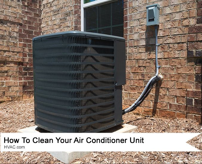 How To Clean Your Air Conditioner Unit Yourself! Disenos