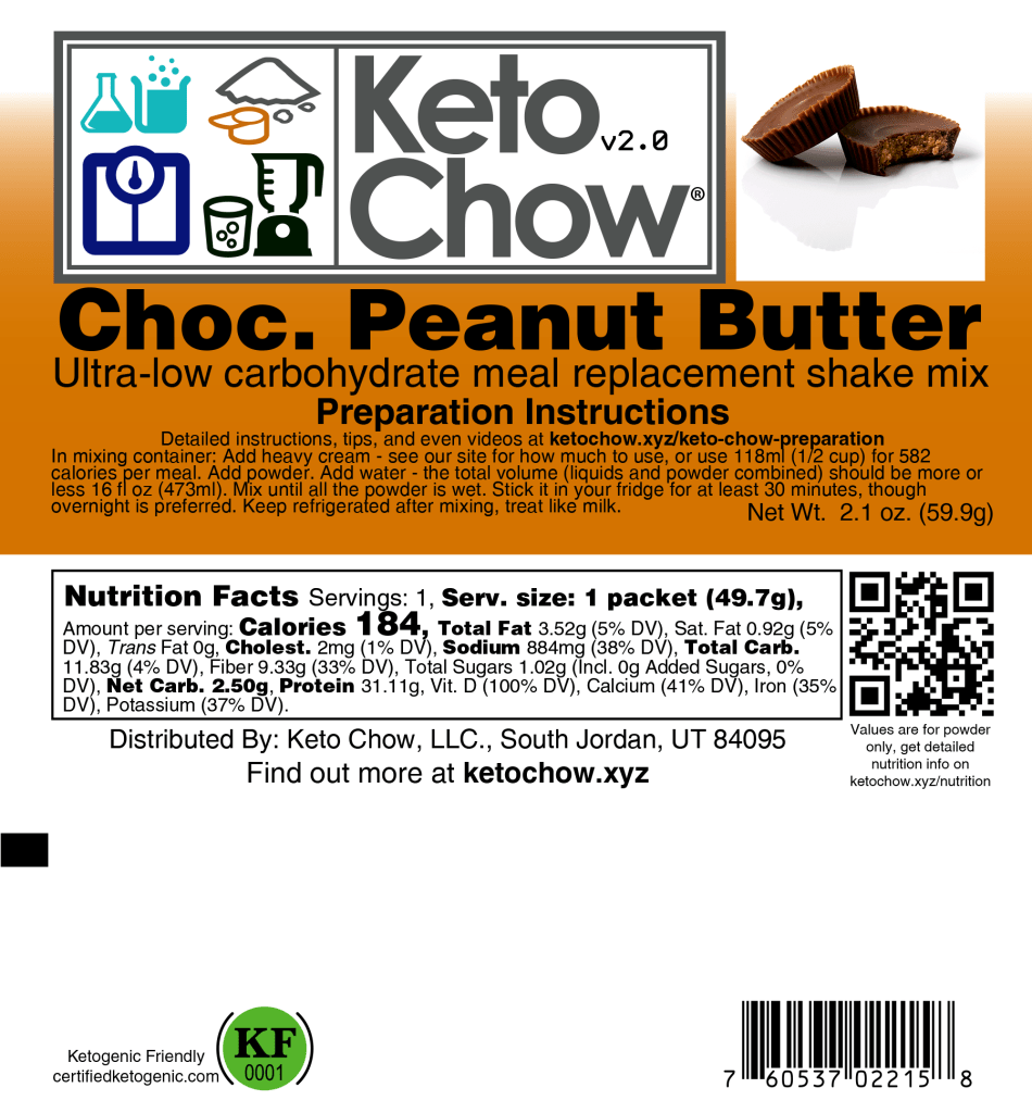 How To Prepare Keto Chow Keto Blender Bottle Meal Replacement Shakes