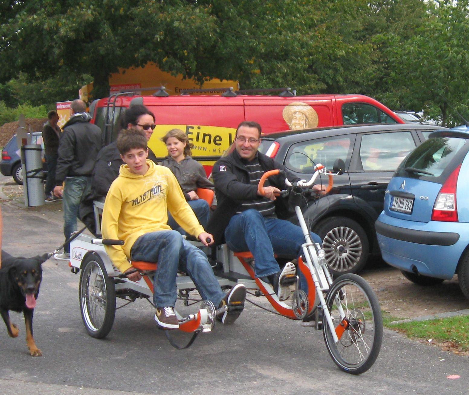 Fahrrad Bicycle City Vehicle Family Cycle Manufaktur