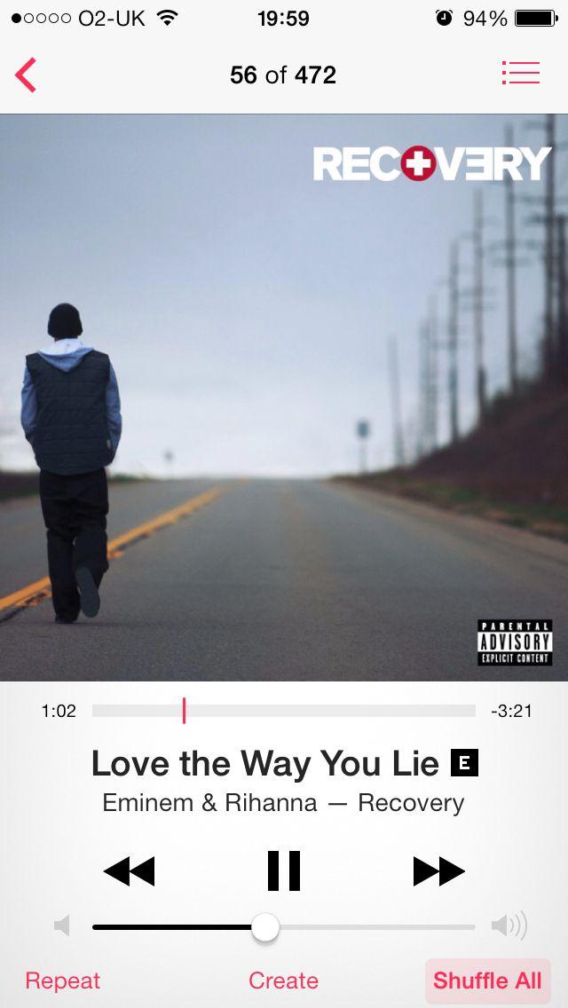 Love The Way You Lie Eminem Rihanna Eminem Eminem Rihanna Eminem Albums