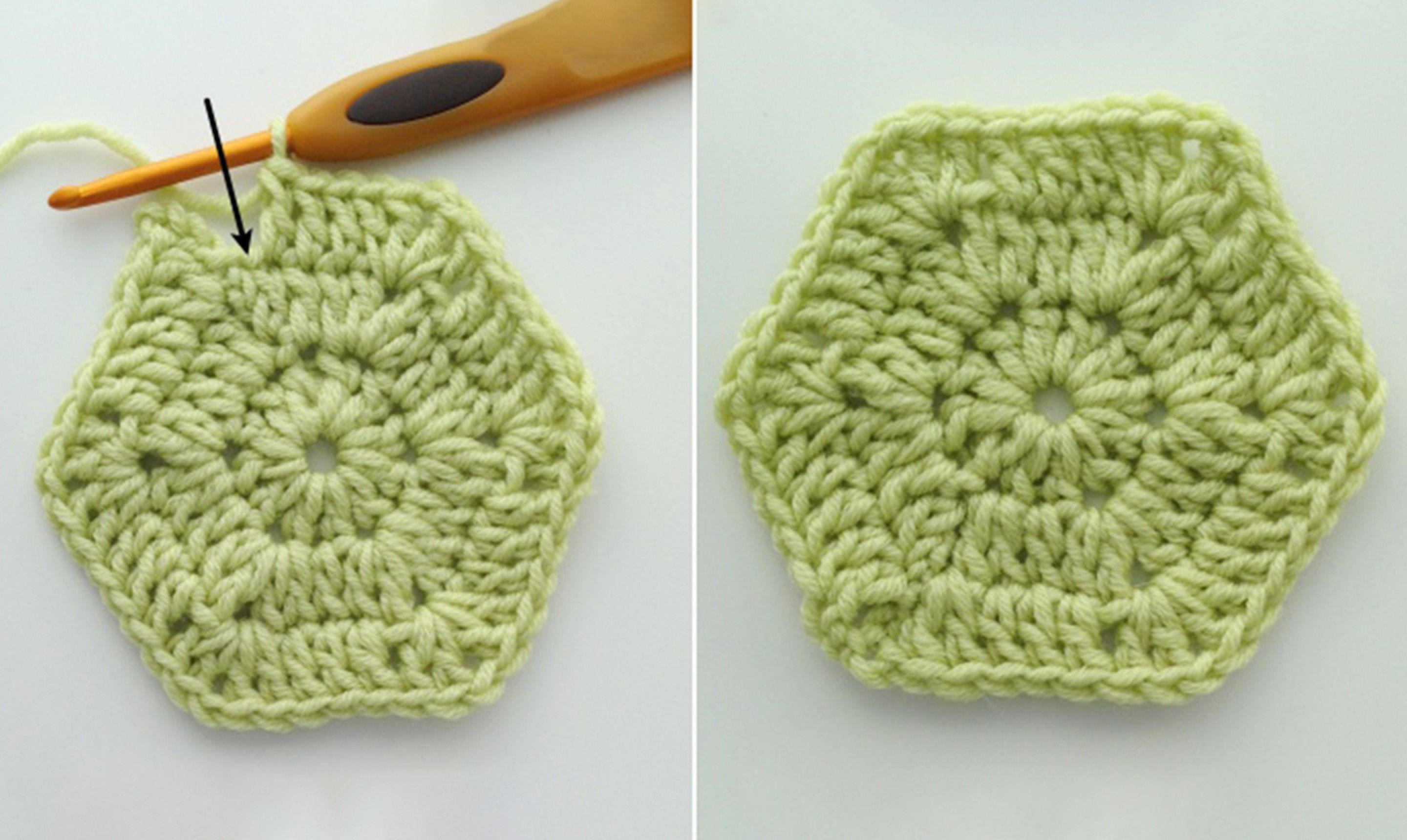 Make Solid Crochet Hexagons Your Graphic Go-To   Craftsy ...