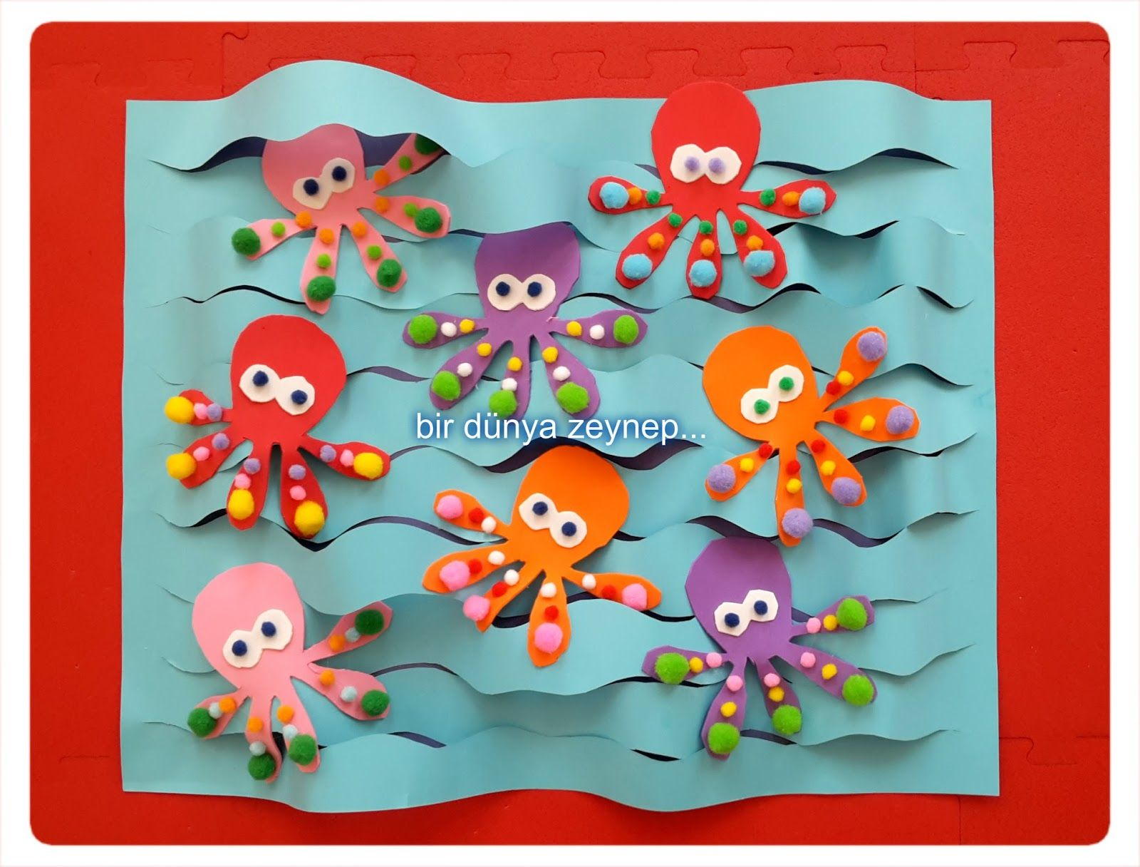 Octopus Craft Idea For Kids Crafts And Worksheets For Preschool Toddler And Kindergarten