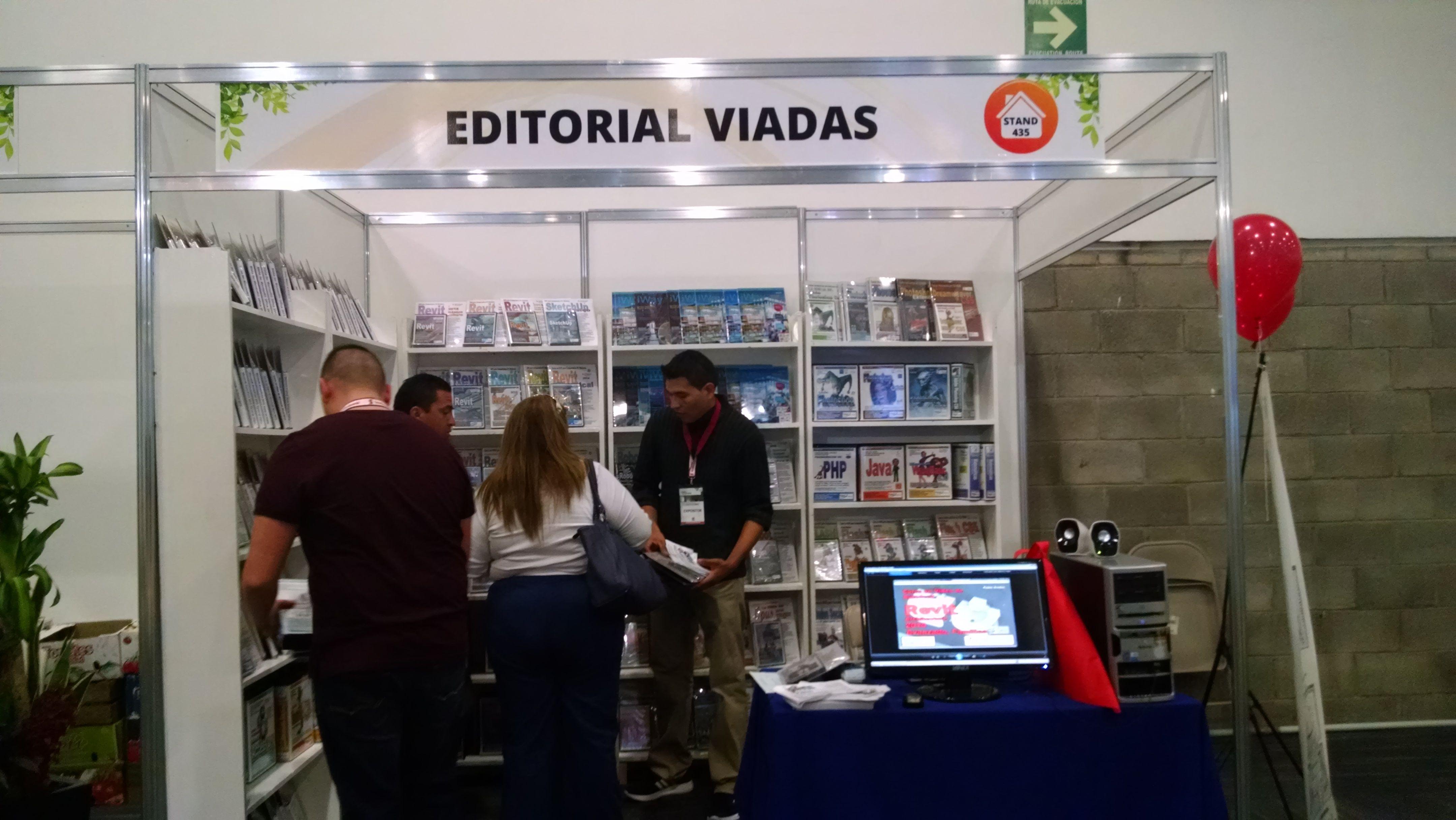 Editorial Viadas Stands en Exposiciones en la República Mexicana