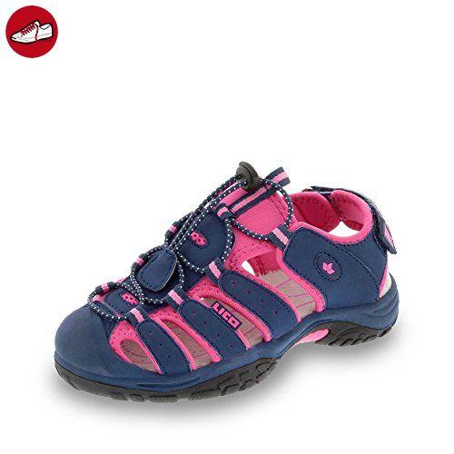 Lico Sandale, Groesse 35, marine/pink - Lico schuhe (*Partner-Link)