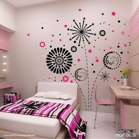 pin oleh jahiska amalia di home ide dekorasi kamar ide on wall stickers stiker kamar tidur remaja id=82611