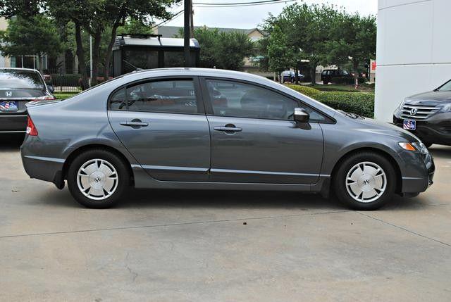 Honda Dealership Dallas Tx >> 2009 Honda Civic Hybrid Hybrid Dallas Texas North Texas