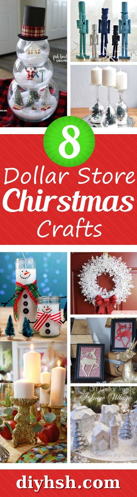 these dollar store christmas crafts are so simple and inexpensive crafts dollarstore diy christmas - Dollar Store Christmas Crafts