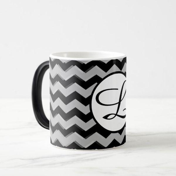Pack Morphing Chevron with letter Magic Mug Custom Gift Ideas