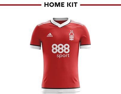 588268bfe71 Nottingham Forest Football Kit 17/18. | cricket | Nottingham forest ...