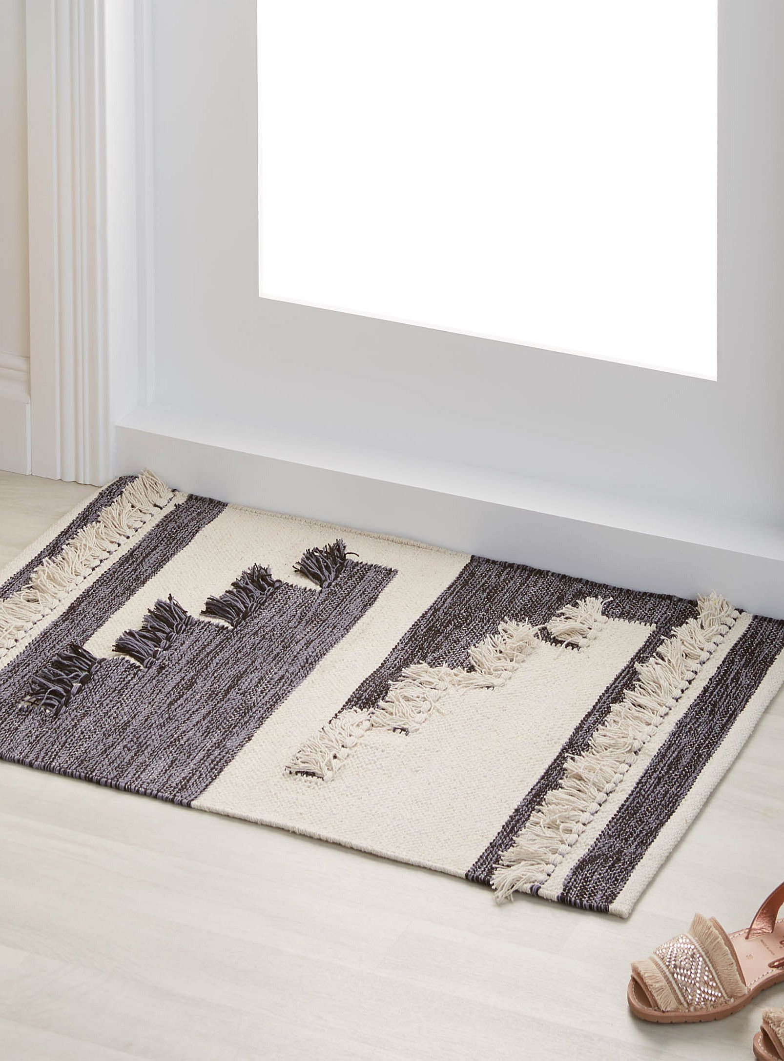 Salle De Bain Exterieur ~ le tapis patchwork frang 60×90 cm simons maison tapis neutres