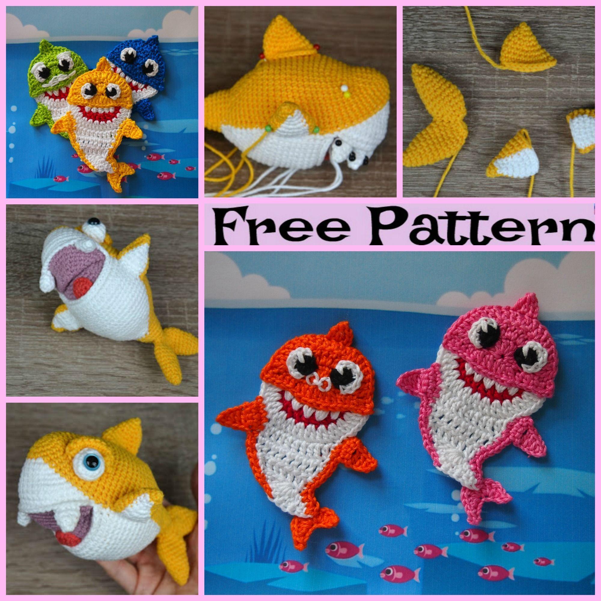 Master Aoi the baby shark amigurumi pattern - Amigurumipatterns.net | 2000x2000