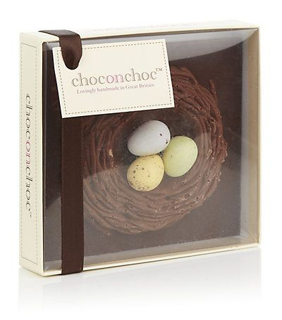 Designer clothing luxury gifts and fashion accessories belgian choconchoc small belgian chocolate easter nest from harrods negle Image collections