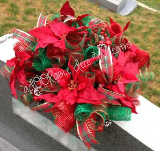 Headstone christmas how to make silk flower arrangements for graves headstone christmas how to make silk flower arrangements for graves cemetery arrangements pinterest silk flowers mightylinksfo