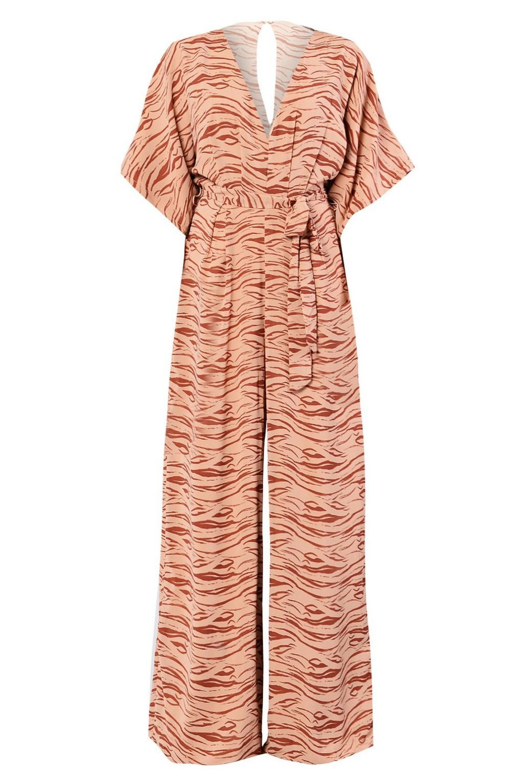 2e6244056e08   Zebra Print Jumpsuit by Glamorous Tall - Tall - Clothing - Topshop