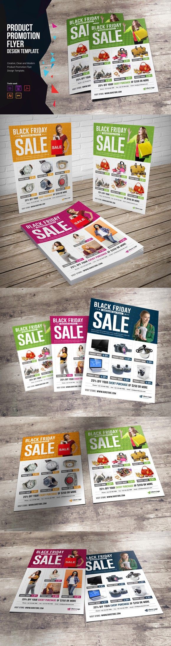 Product Promotion Flyer Design. Flyer Templates. $6.00 | Promotional ...