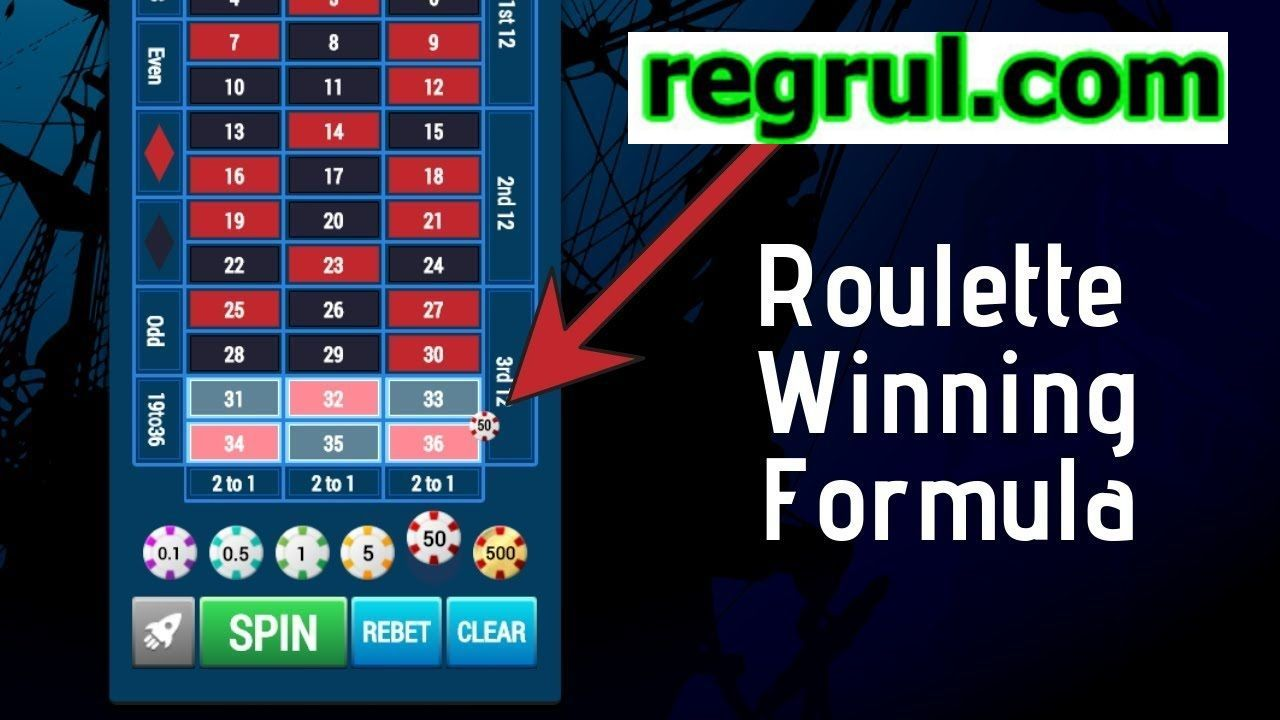 Roulette Winning Formula! How i won over $5'000.-- with this ...