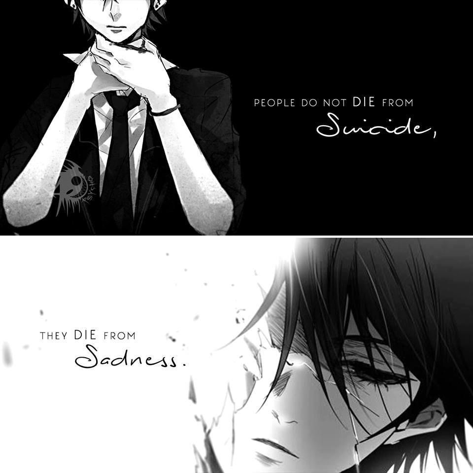 Anime Emo Quotes About Suicide: Pin By Anime Discover On Anime Quotes