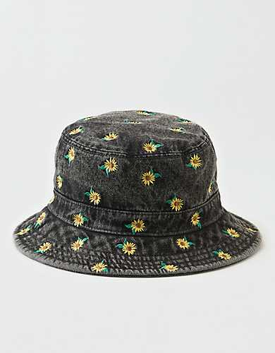 Ae Sunflower Bucket Hat In 2020 Bucket Hat Fashion Bucket Hat Outfit Cute Hats