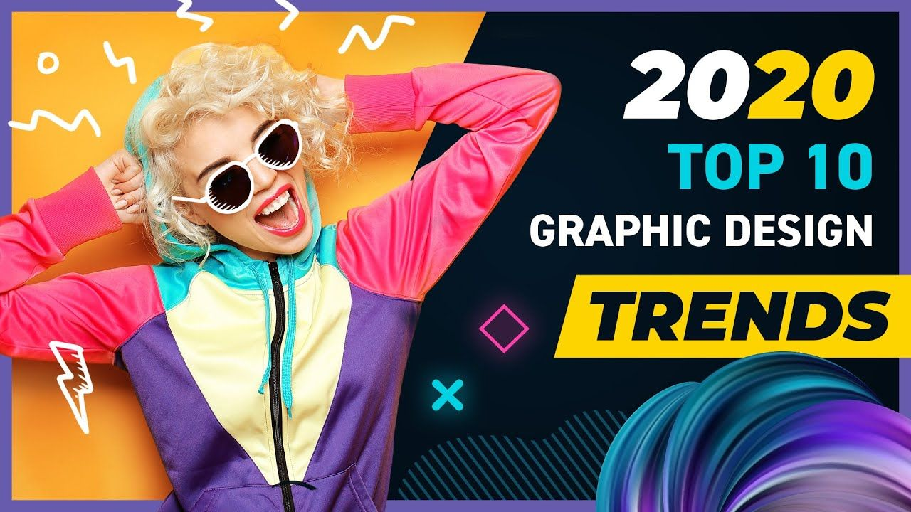 Top 10 Graphic Design Trends of 2020 in 2020 Graphic