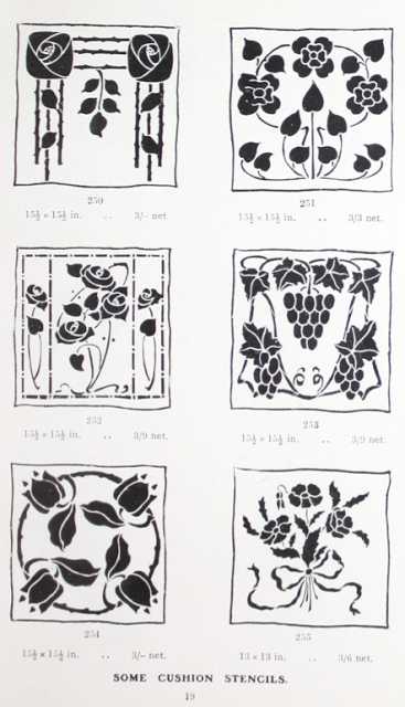 Gibson Cushion Stencils offered in