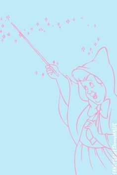 Image Result For Fairy Godmother Silhouette Disney Drawings