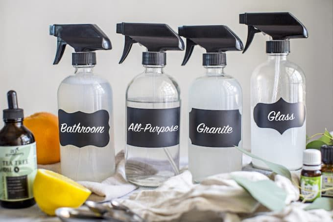 Image result for bathroom counter cleaning with vinegar