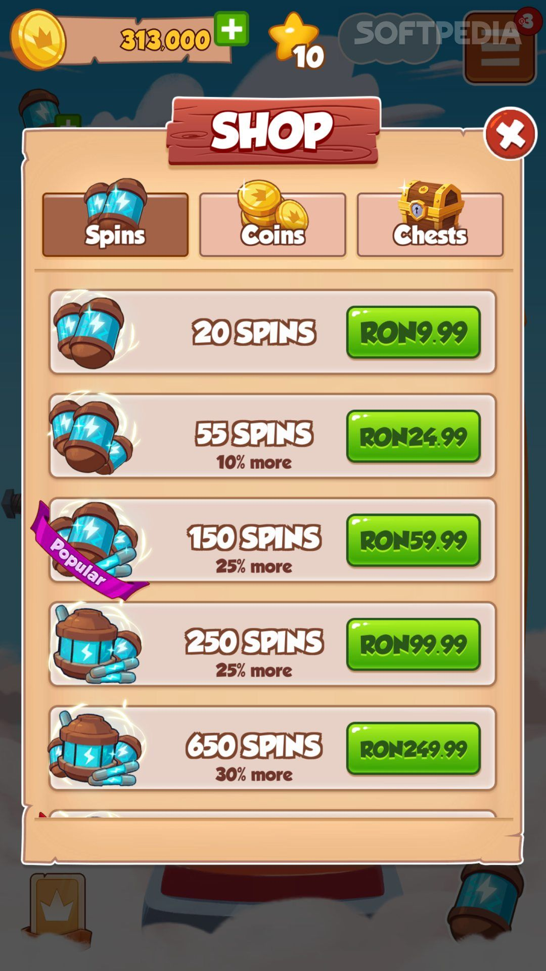 Free Coin Master Spins Links 19/03/2020 082410