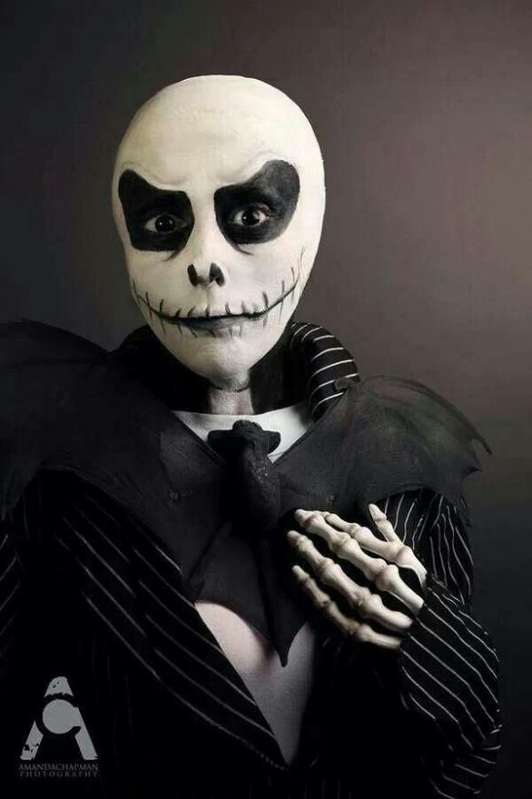 Halloween Jack Skellington Scary.Homemade Jack Skellington Costume Ideas Halloween Jack